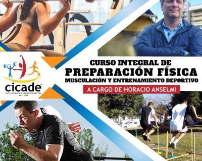 Matrícula – Online – Curso Integral de Preparación Física, Musculación y Entrenamiento Deportivo