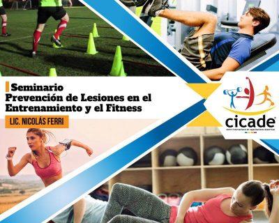 Seminario – Prevención de Lesiones en el Entrenamiento y el Fitness