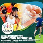 Presencial – Curso Intensivo de Nutrición Deportiva 2020