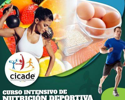 Presencial – Curso Intensivo de Nutrición Deportiva