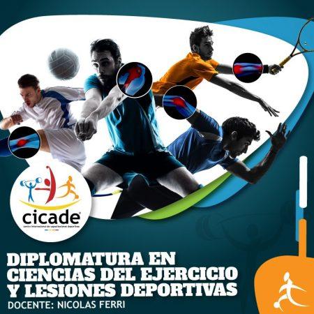 Presencial – Diplomatura en Ciencias del Ejercicio y Lesiones Deportivas 2019