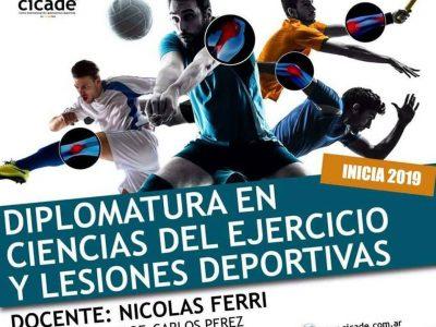 Online – Diplomatura en Ciencias del Ejercicio y Lesiones Deportivas
