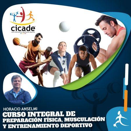 Presencial – Turno Tarde – Curso Integral de Preparación Física, Musculación y Entrenamiento Deportivo