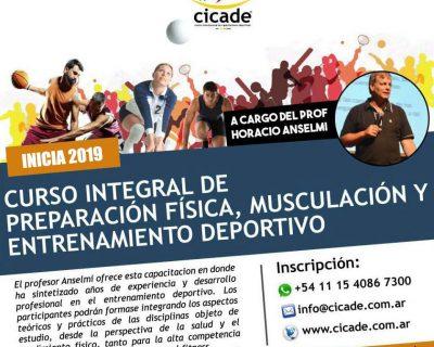 Online – Curso Integral de Preparación Física, Musculación y Entrenamiento Deportivo