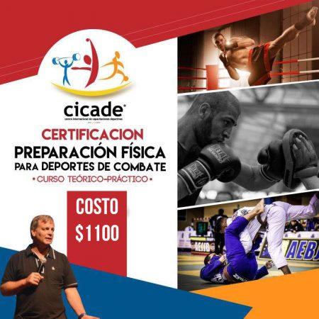Presencial – Certificación – Preparación Física para Deportes de Combate