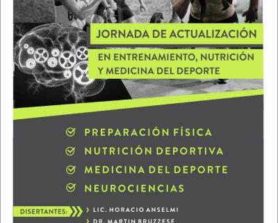 Jornada de Actualización en Entrenamiento, Nutrición y Medicina del Deporte