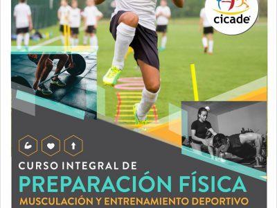 Curso Integral de Preparación Física, Musculación y Entrenamiento Deportivo – 29/08