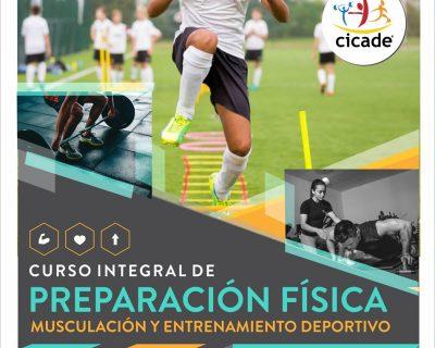 Presencial – Curso Integral de Preparación Física, Musculación y Entrenamiento Deportivo