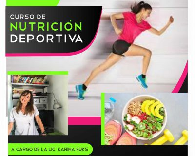 Matrícula – Curso Intensivo de Nutrición Deportiva