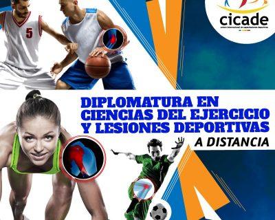 Matrícula – Diplomatura en Ciencias del Ejercicio y Lesiones Deportivas