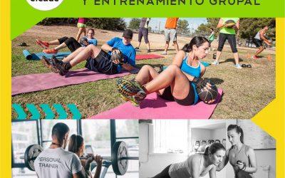 Presencial – Curso Intensivo de Personal Trainer y Entrenamiento Grupal 2020 – Sede Belgrano