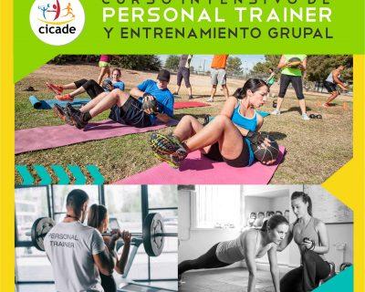 Presencial – Curso Intensivo de Personal Trainer y Entrenamiento Grupal – Sede Avellaneda
