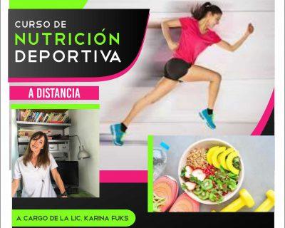 A distancia – Curso Intensivo de Nutrición Deportiva 2020
