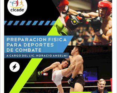 Presencial – Preparación Física para Deportes de Combate 2020