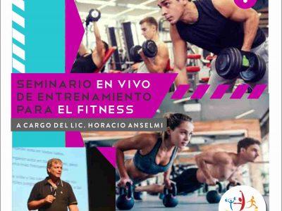 Seminario en Vivo de Entrenamiento para el Fitness