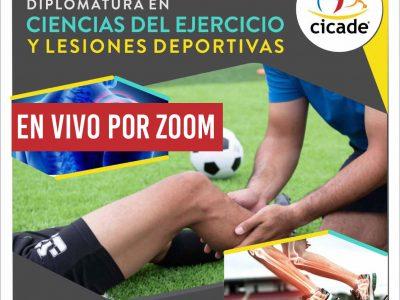 Diplomatura en Ciencias del Ejercicio y Lesiones Deportivas 2020