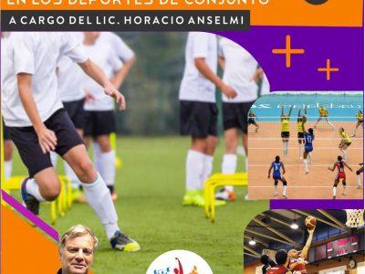 Jornada en Vivo – Preparación física para Deportes de conjunto.