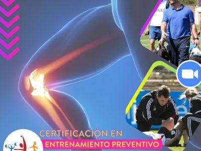 Certificación en Entrenamiento Preventivo y Readaptación Funcional
