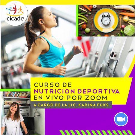 Curso Intensivo de Nutrición Deportiva