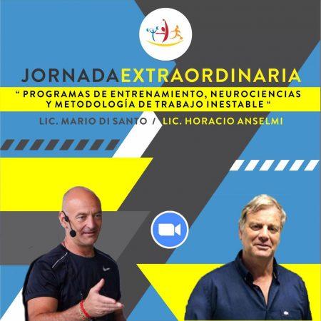 Jornada Extraordinaria – Programas de Entrenamiento, Neurociencias y Metodología de Trabajo Inestable