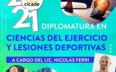 Diplomatura en Ciencias del Ejercicio y Lesiones Deportivas – 2021