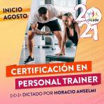 Certificación en Personal Trainer – 2021