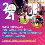 Curso Integral de Preparación Física, Musculación y Entrenamiento Deportivo 2021