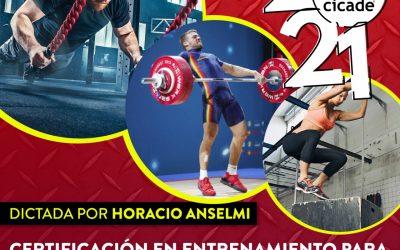 Certificación en Entrenamiento para Cross Fitness