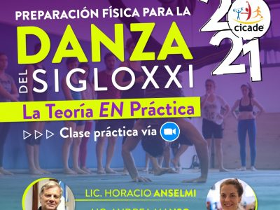 Jornada de Preparación física para la danza del siglo XXI