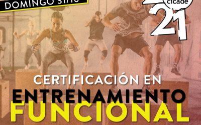 Certificación en Entrenamiento Funcional – Presencial